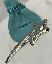 4.5in X-Large Shooting Star Brooch Pin $650 Tiffany & Co. Paloma Picasso Silver