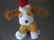 Hund Plüschtier Stofftier mit Funktion, singt, bewegt Ohren im Takt, süss H26cm