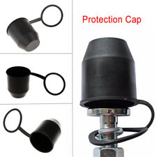 Black Tow Bar Ball Cover Cap Car Towing Hitch Towball Trailer Protection Cap yu