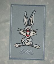 "Little Rabbit Patch - baby bunny - Hello - 2 1/2"" x 4"""