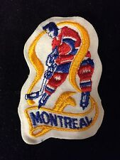 1970's NHL MONTREAL CANADIENS HOCKEY PLAYER PATCH 2 x 3.25 Inches