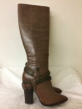"NINE WEST Vintage America ""Creepin"" Women brown Leather Boots  -Size US 7.5M"