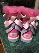 Brand New never worn pink ugg boots. Size 6