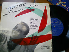 """LP 10"""" 25 CM FRANCO E I G 5 TROPICANA ITALY 1955 VG+ COVER VERONESI"""