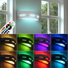 LED Wand Leuchte Wohn Ess Zimmer RGB Dimmer Fernbedienung UP DOWN Lampe bemalbar