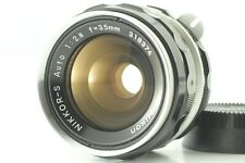 """NEAR MINT"" Nikon NIKKOR S Auto 35mm F2.8 Non-Ai MF Lens from Japan #N2"