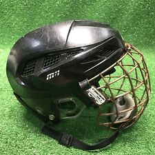 Cascade M11 Hockey Lacrosse Helmet With Cage Adjustable Youth Fast Shipping wow