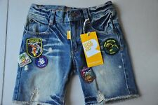 Rock your baby kid Boys Denim Blue Shorts Size 5 BRAND NEW with tags