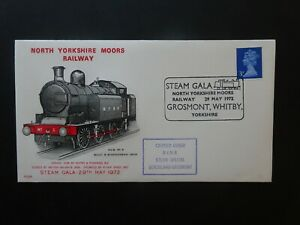 PLS8 GB Railway First Day Cover North Yorkshire Moors Railway