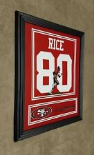 San Francisco 49ers Jerry Rice 8x10 Framed Jersey Photo