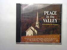 Peace In the Valley: 18 Favourites For Sundays CD Mint Hymns Etta James Various