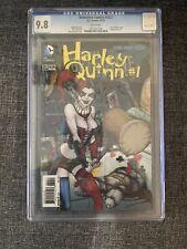 DETECTIVE COMICS # 23.2 CGC 9.8. 3-D LENTICULAR COVER. HARLEY QUINN # 1 (11/13)