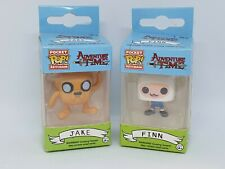 Llavero Adventure Time Finn + Jake Mini Pocket Pop FUNKO Figura Llavero