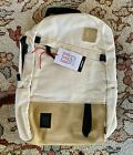 TOPO DESIGNS Daypack Leather Cotton Canvas School Outdoors Hiking Backpack Bag