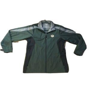 Green Bay Packers Antigua Full Zip Light Jacket NWOT
