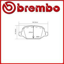 07.B315.30#29 PASTIGLIE FRENO POSTERIORE SPORTIVE BREMBO SPORT FIAT PANDA Van (1