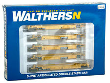 WALTHERS TTX DOUBLE STACK 5 UNIT CAR 929-8106 N SCALE # 72805