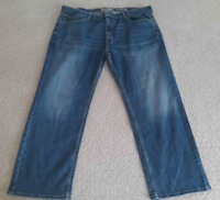 Signature By Levi Strauss & Co S61 Relaxed Fit Jeans Mens Size 42X30