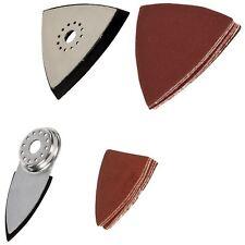 Silverline 893428 14pc Multi-Cutter Sanding Accessory Kit Sander Sheet