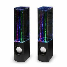 Mini Music Speaker LED Dancing Water Speaker for Cellphone iPhone, iPad, Samsung