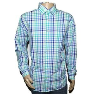 VINEYARD VINES Men's XL Murray Long Sleeve Shirt Checkered Whale Button Down