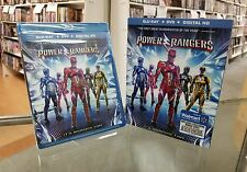 Sabans Power Rangers ( Blu-ray + Dvd + Digital ) 2017 AUTHENTIC FAST SHIP