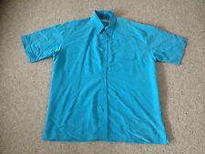 Ben Sherman Men's Short Sleeved Shirt Colour Blue (A2)