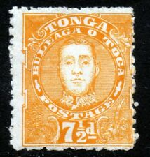 TONGA 1895 King George II 7½d.Orange-Yellow SG 35 MINT