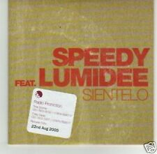 (I550) Speedy, Sientelo ft Lumidee - DJ CD