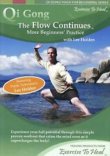 Qi Gong The Flow Continues More Beginners' Practice with Lee Holden New DVD