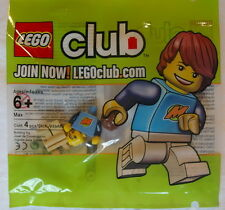 NEW LEGO CLUB MAX MINIFIG sealed polybag set minifigure guy rare package 852996