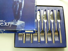VINERS Cutlery - LOVE STORY Pattern - Fish Set for 6 Persons