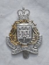 The Gibraltar regimiento, aluminio anodised stayb., Maker: londres badge & button Ltd