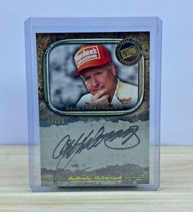 2010 NASCAR Press Pass Legends Autograph - Cale Yarborough 47/50