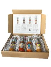 Collection of Hot Sauce - 4 x 125ml bottles - Lemon, Mild, Ghost, Garlic
