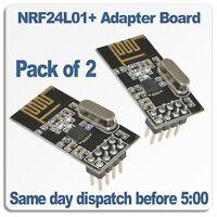 Mini Heatsink Free P/&P 2 Pack 9x9mm Suitable for Arduino /& Pi UK