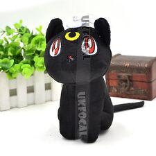 Sailor Moon Plush Doll Cat Toy Cute Anime Gift For Children's Day Black White