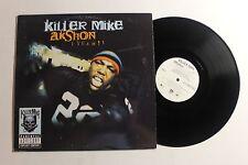 """KILLER MIKE AKshon 12"""" Aquemini Rec. 44-79784 US 2002 VG++ OUTKAST 12E"""