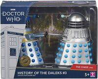 DOCTOR WHO History of The Daleks Chase #3 Collector Action Figure Set 1965