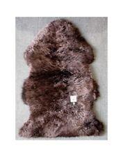 Chocolate Brown Sheepskin Rug 0135