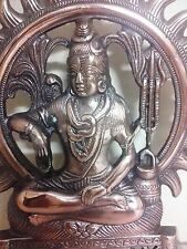 SHIVA Statue Hindu God Siva Nataraj Copper Metal Figure Wall Hanging Idol Cheap