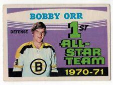 1971-72 OPC NHL #251 Bobby Orr AS HOF