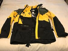 Men's Rare The North Face Scot Schmidt Steep Tech Yellow/Black Jacket Medium