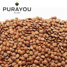 Organic Brown Lentils 1000g - 1 Kg - Free UK Shipping