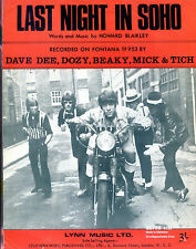 Dave Dee, Dozy, Beaky, Mich & Tich : original UK 1960's Sheet Music