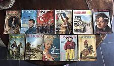Lot Revues Historia Miroir De L'histoire 1950 1960 Pubs Anciennes Rasoir Caméra