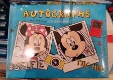 Autograph Libro / Libro Autografo Topolino/Minnie Selfie Disneyland Paris