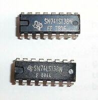 SN74LS138N Décod Démultiplex DIP-16 Texas  (lot de 2)