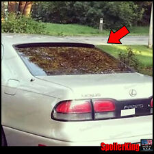 Rear Roof Spoiler Window Wing (Fits: Lexus GS300 1993-97 S140) 284R SpoilerKing