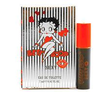 Betty Boop Sexy Eau De Toilette Parfum Women Spray Perfume 2ml Travel Size Fun
